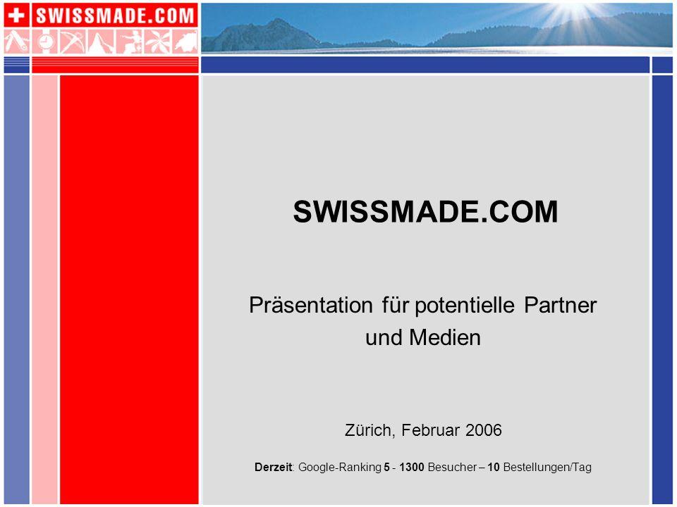 SWISSMADE.COM ist nicht einfach ein weiterer Onlineshop mit Schweizer Souvenirs, sondern kommt als einzigartiges Einkaufs-Portal mit unverwechselbaren und typischen Schweizer Produkten daher - und bietet auch Informationen über die Schweiz