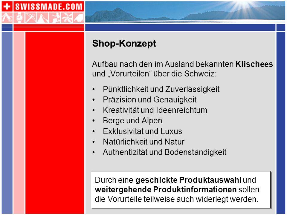 Shop-Konzept Pünktlichkeit und Zuverlässigkeit Präzision und Genauigkeit Kreativität und Ideenreichtum Berge und Alpen Exklusivität und Luxus Natürlic