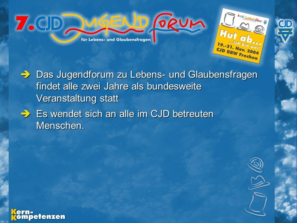 Musische Festtage 2003 - Folie 0 Vor-Informationen Jugendforum 2004