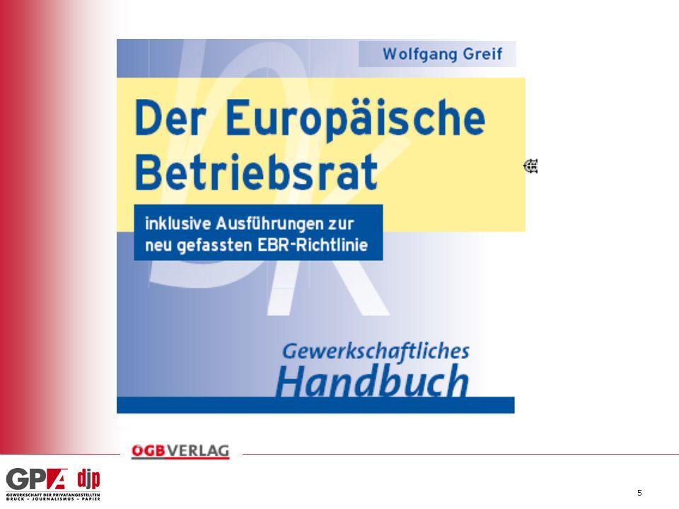 Was bringt die neue EBR Richtlinie im Fall von Umstrukturierungen.