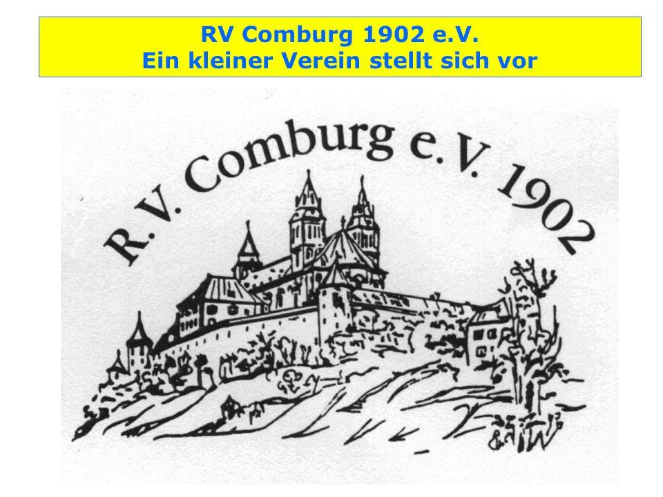 RV Comburg 1902 e.V. Ein kleiner Verein stellt sich vor