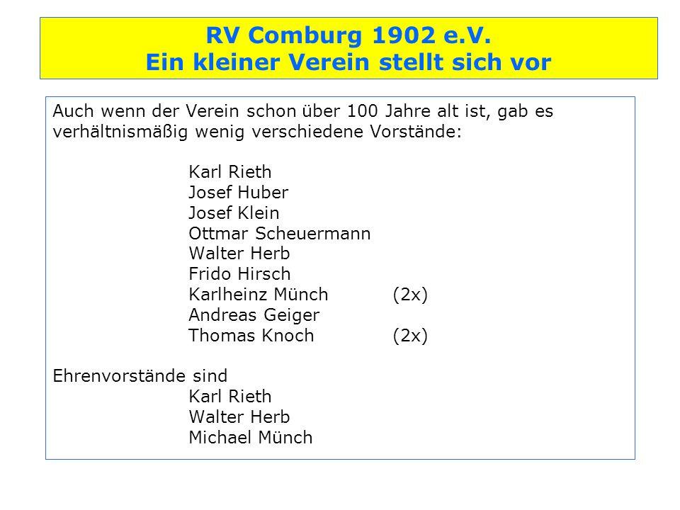 RV Comburg 1902 e.V.