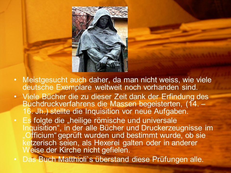 Meistgesucht auch daher, da man nicht weiss, wie viele deutsche Exemplare weltweit noch vorhanden sind.