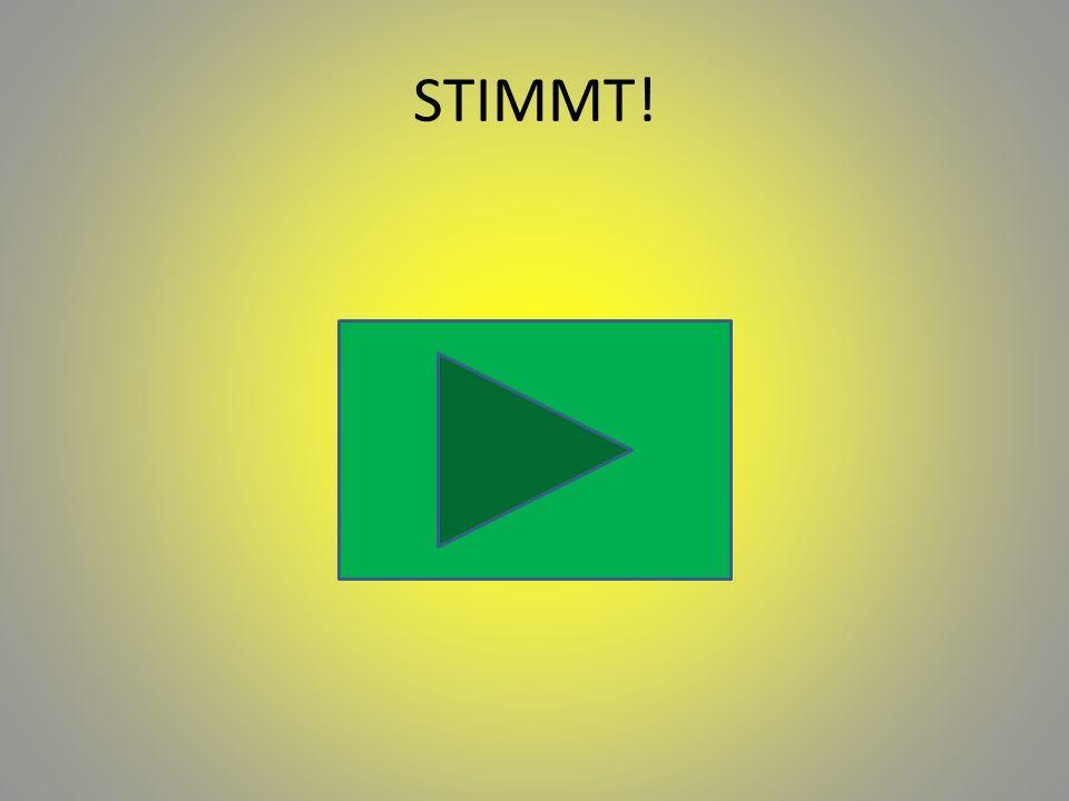 STIMMT!