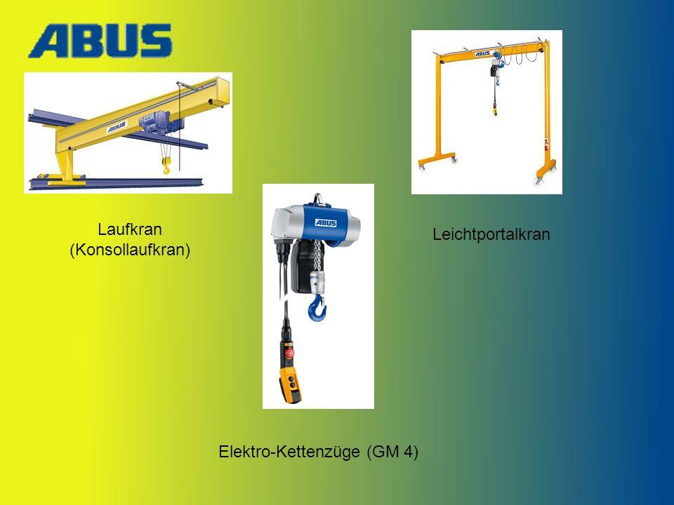 Laufkran (Konsollaufkran) Leichtportalkran Elektro-Kettenzüge (GM 4)