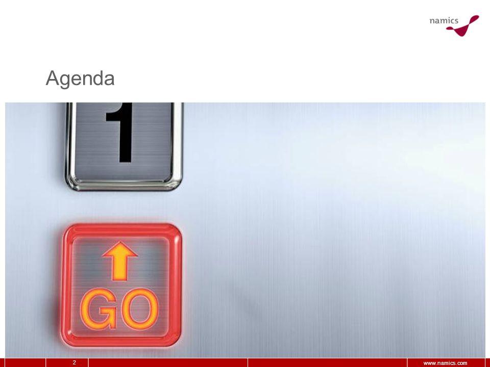 2 www.namics.com Agenda