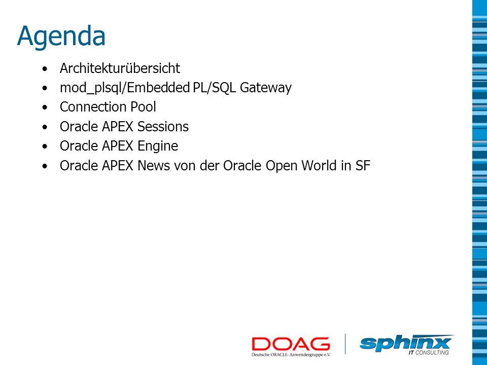 Über Sphinx IT Consulting Gegründet 1993 Erstellung von Individualsoftware Consulting im Bereich Datenbanken & Java Middleware Spezialist im Oracle Umfeld Weitere Informationen auf http://www.sphinx.at/http://www.sphinx.at/ Über Patrick Wolf Solution Architect bei Sphinx IT Consulting Oracle APEX Developer of the Year 2007 und Oracle ACE Betreibt einen APEX Blog – http://inside-apex.blogspot.comhttp://inside-apex.blogspot.com Autor des ApexLib Frameworks – http://apexlib.sourceforge.net/http://apexlib.sourceforge.net/ Autor des Oracle APEX Builder Plugins Zu erreichen unter patrick.wolf@sphinx.atpatrick.wolf@sphinx.at