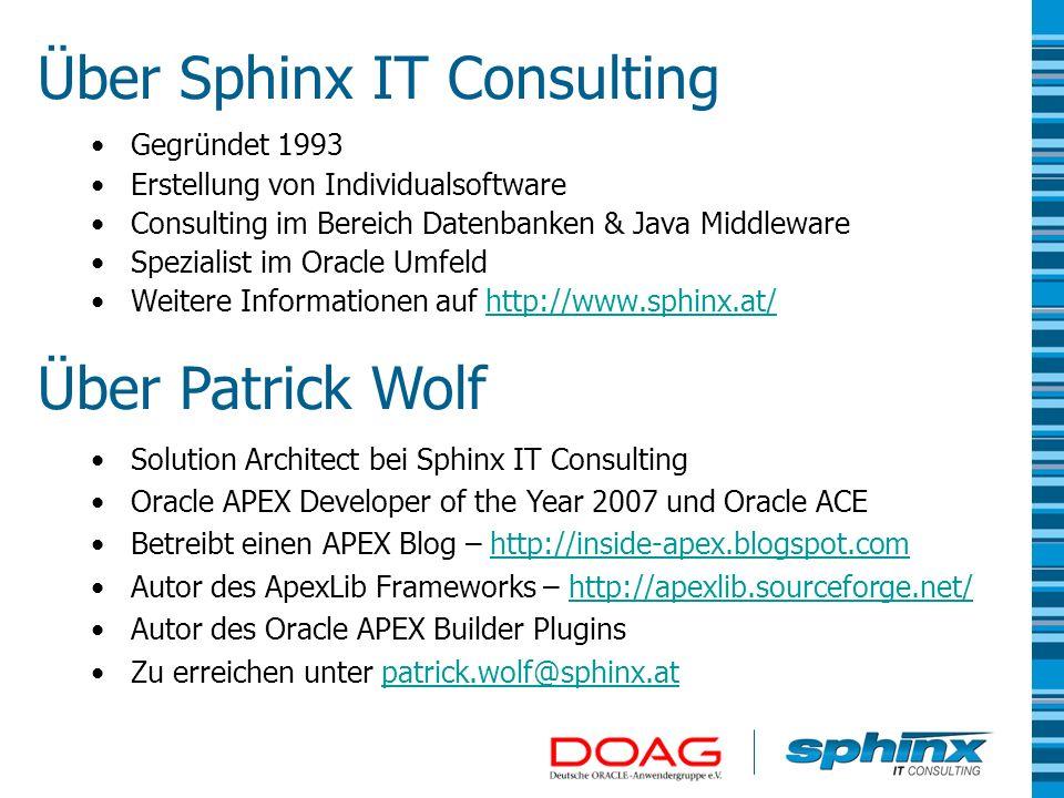Architekturübersicht 3-Tier mit eigenem Web Server (OHS oder Oracle Application Server) und mod_plsql 2-Tier mit integriertem Web Server in der Datenbank und Embedded PL/SQL Gateway Oracle APEX Engine