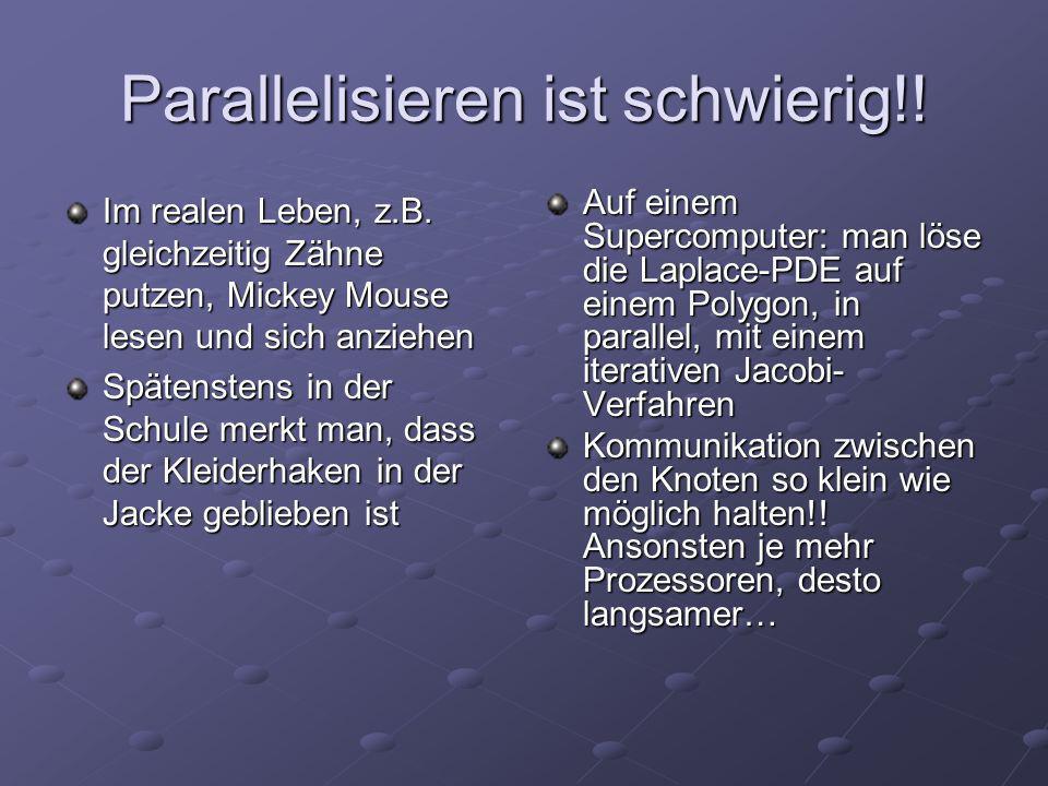 Wie wird heutzutage parallel programmiert?.