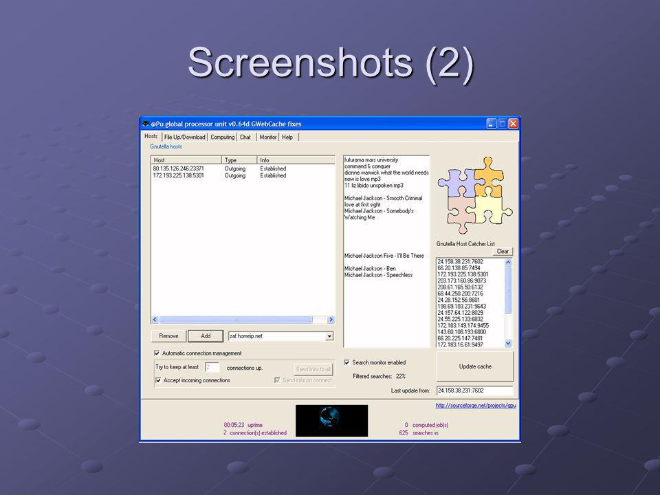 Screenshots (2)