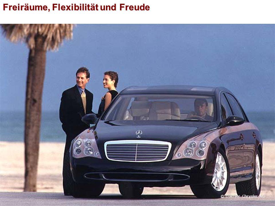 Freiräume, Flexibilität und Freude © Daimler Chrysler AG
