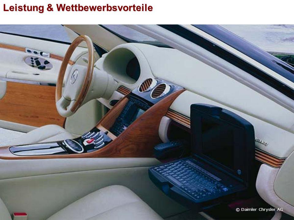 Leistung & Wettbewerbsvorteile © Daimler Chrysler AG