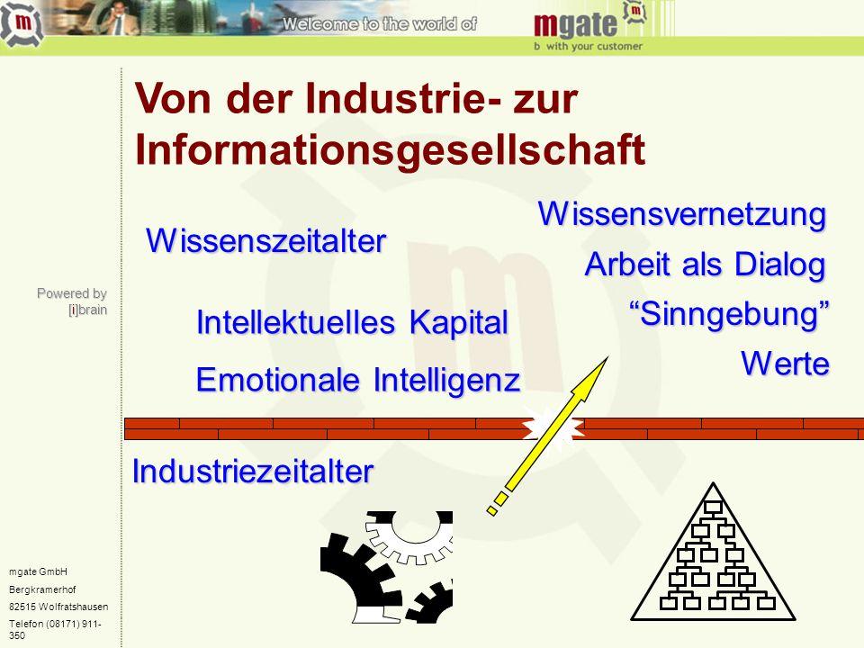 mgate GmbH Bergkramerhof 82515 Wolfratshausen Telefon (08171) 911- 350 Powered by [i]brain Von der Industrie- zur Informationsgesellschaft Industrieze