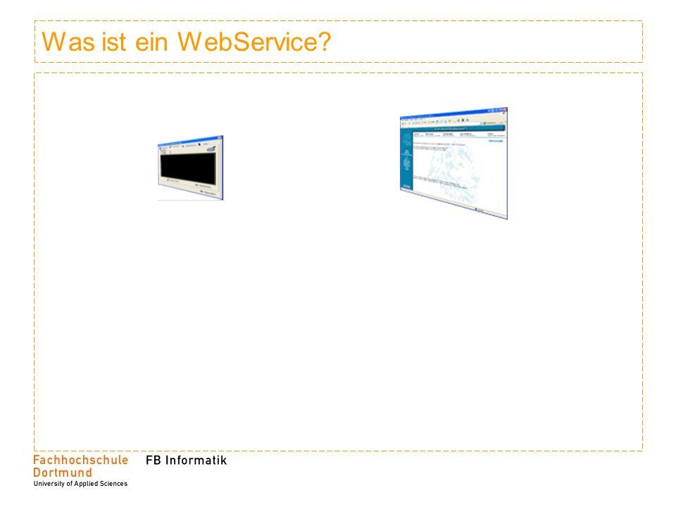 Was ist ein WebService?