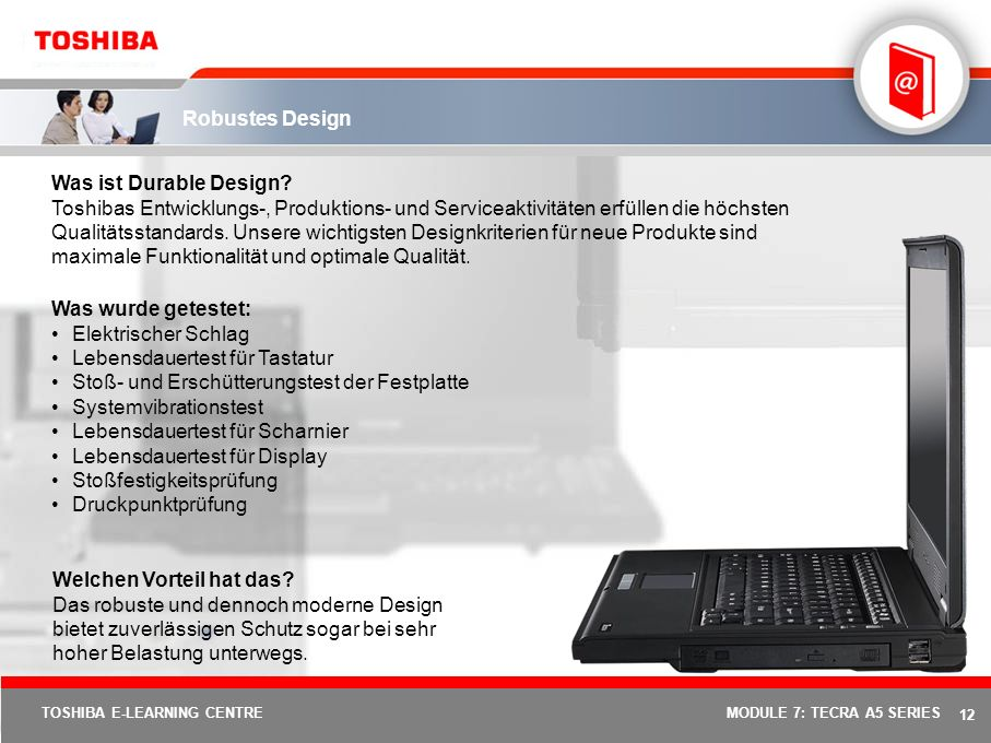 11 TOSHIBA E-LEARNING CENTREMODULE 7: TECRA A5 SERIES Execute Disable Bit (XD-Bit) Was ist XD-Bit.