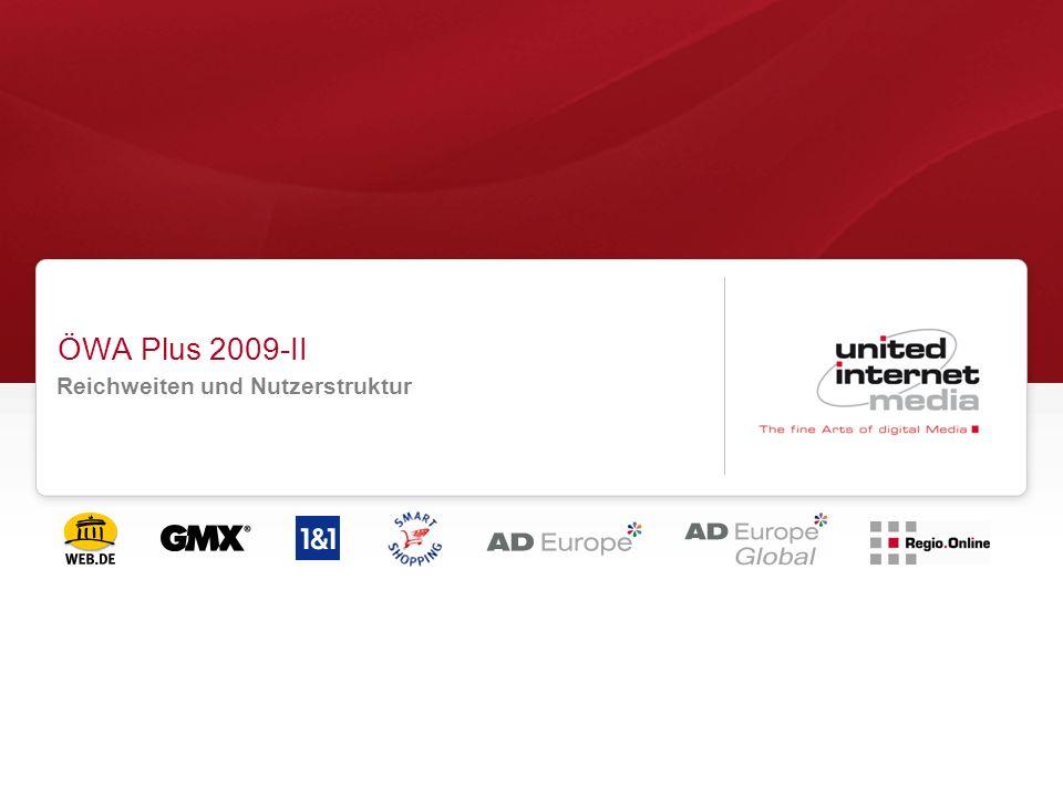 ÖWA Plus 2009-II Reichweiten und Nutzerstruktur