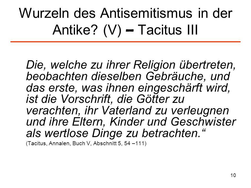 11 Christlicher Antijudaismus und Antisemitismus