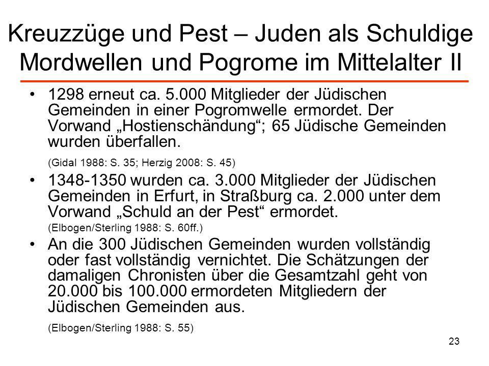 24 Antijudaismus und Verteufelung: Martin Luther Im Werk des bedeutenden Reformators Martin Luther erreichen traditioneller Antijudaismus und populärer Judenhass einen bisher ungekannten Höhepunkt.