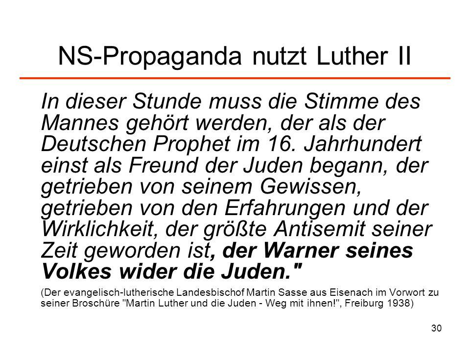 31 Bibelkontext zu Luther/ Johannes 8.44 - Ü bersetzung.