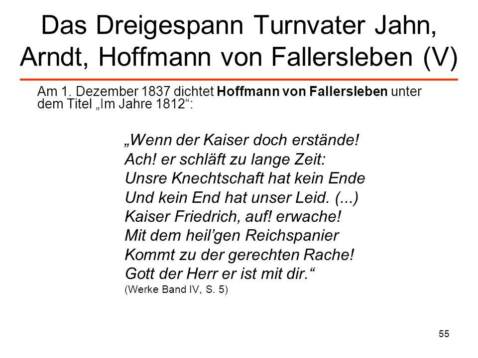 56 Heinrich Heine (I) Im Bierkeller zu Göttingen musste ich einst bewundern, mit welcher Gründlichkeit meine altdeutschen Freunde die Proskriptionslisten [Liste der Geächteten im alten Rom] anfertigten, für den Tag, wo sie zur Herrschaft gelangen würden.