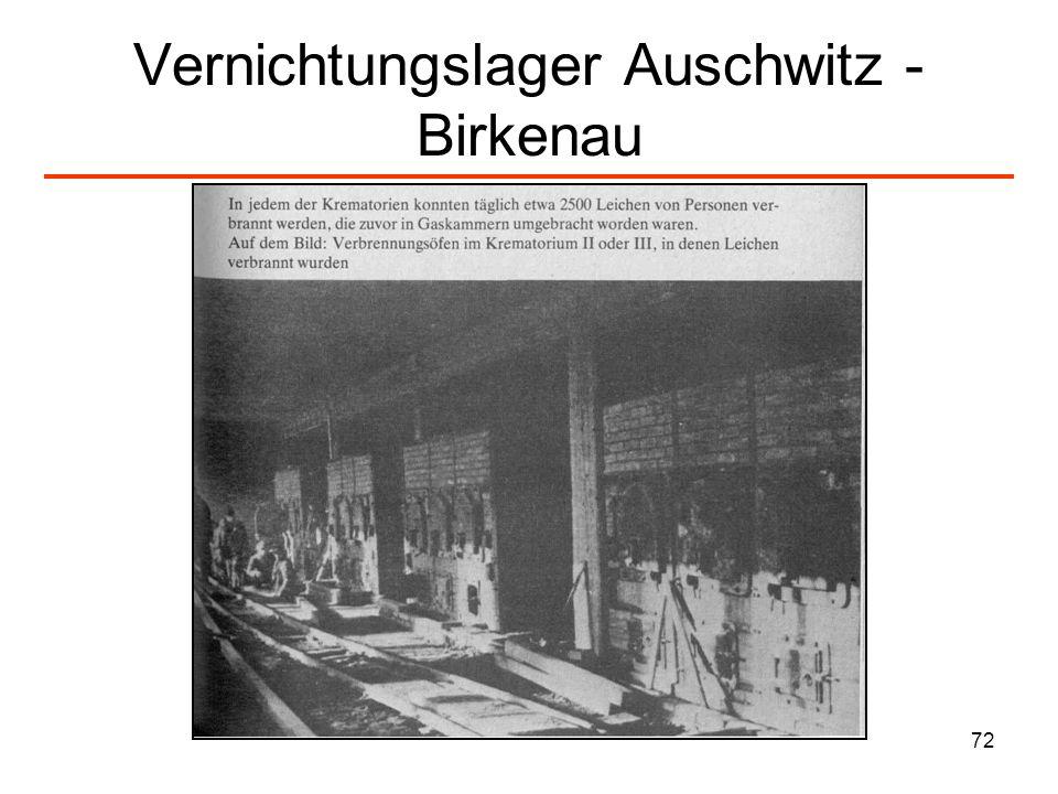 73 Transporte aus Ungarn / Die Krematorien sind überlastet: Verbrennungen in Auschwitz-Birkenau