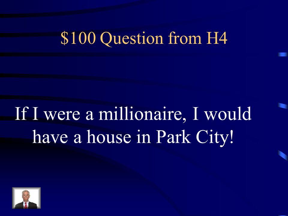 $500 Answer from H3 Was ist Ich war in der achten Klasse!?