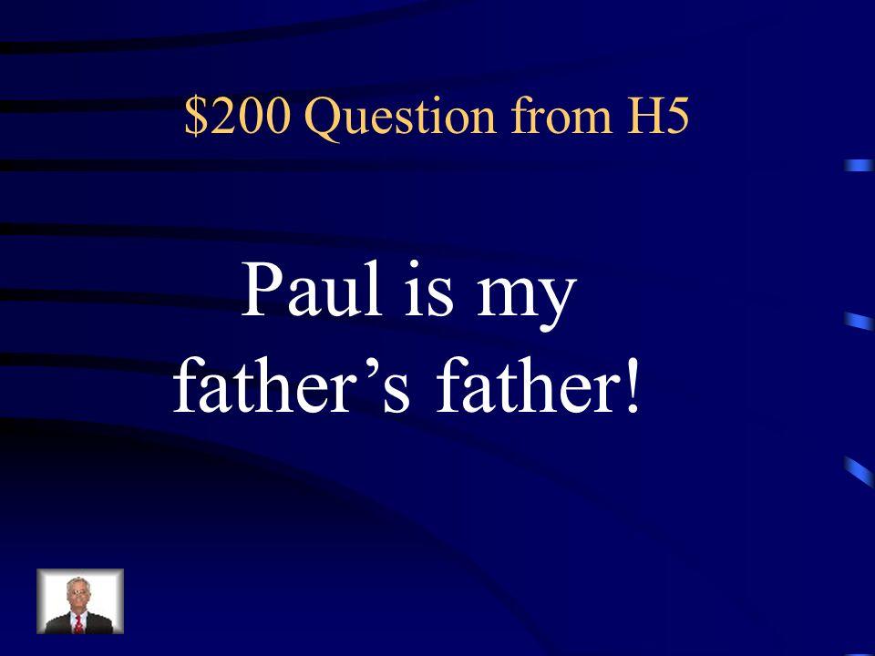 $100 Answer from H5 Was ist …Das ist der Kuli meines Bruders?