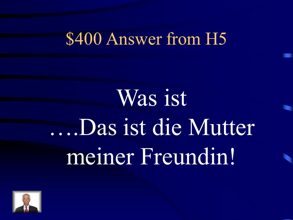 $400 Question from H5 That is my girlfriends mother!