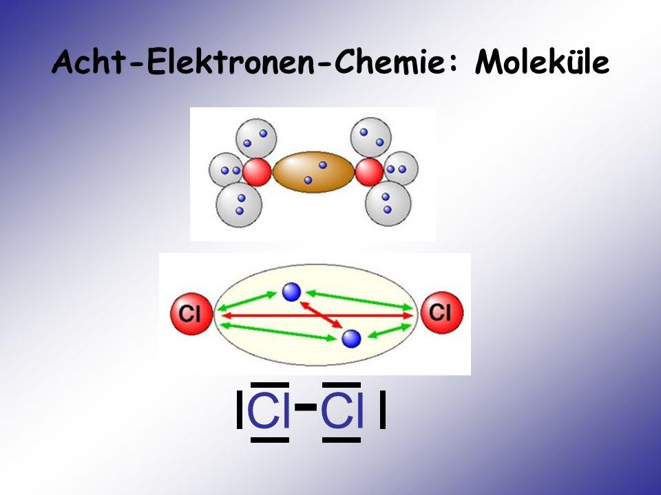 Acht-Elektronen-Chemie: Moleküle Cl - Cl