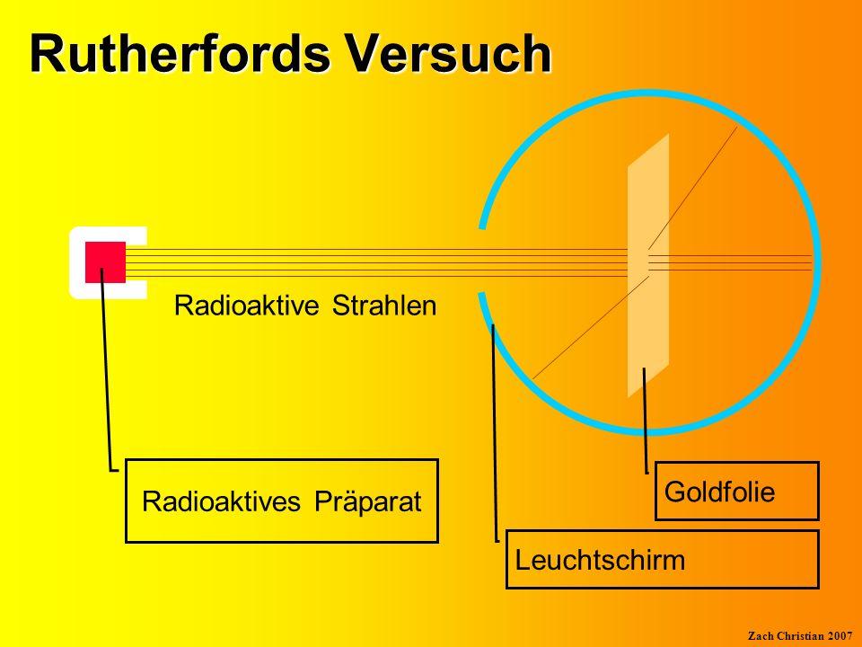 Zach Christian 2007 Das Bohrsche Atommodell Atomkern Schale 1 (K) Verbotene Zone Schale 2 (L) Elektron