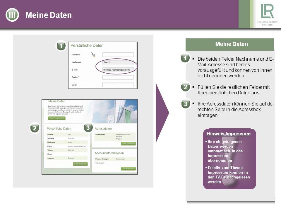 Inhalt und Design für die eigene Partner-Homepage auswählen Gestaltung der Partner-Homepage Sie können aus vier verschiedenen Designs ein Design für Ihre Partner-Homepage auswählen, indem Sie oben auf der Seite auf den Button Designs wählen klicken Sie können einen Begrüßungstext aus sieben verschiedenen Begrüßungstexten auswählen, indem Sie auf den Button Text wählen klicken Wenn Sie auf den Button Hochladen klicken, können Sie ein Foto von sich auswählen und dieses wird anschließend in Ihrem Profil hinterlegt Wenn Sie alle drei Elemente ausgewählt haben, können Sie auf den Button weiter klicken und so wird die Seite automatisch nach oben gescrollt.