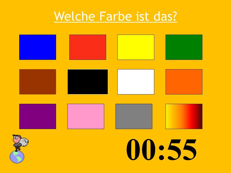Welche Farbe ist das? 03:5 3 01:00