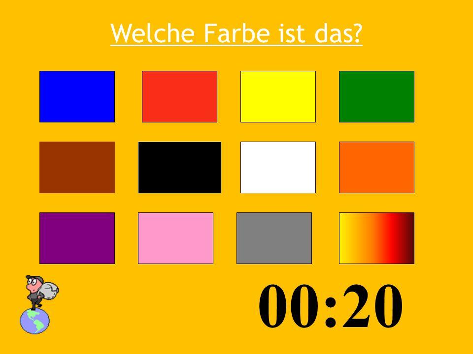 Welche Farbe ist das? 03:5 3 00:25