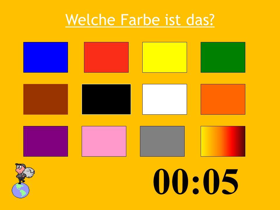 Welche Farbe ist das? 00:10