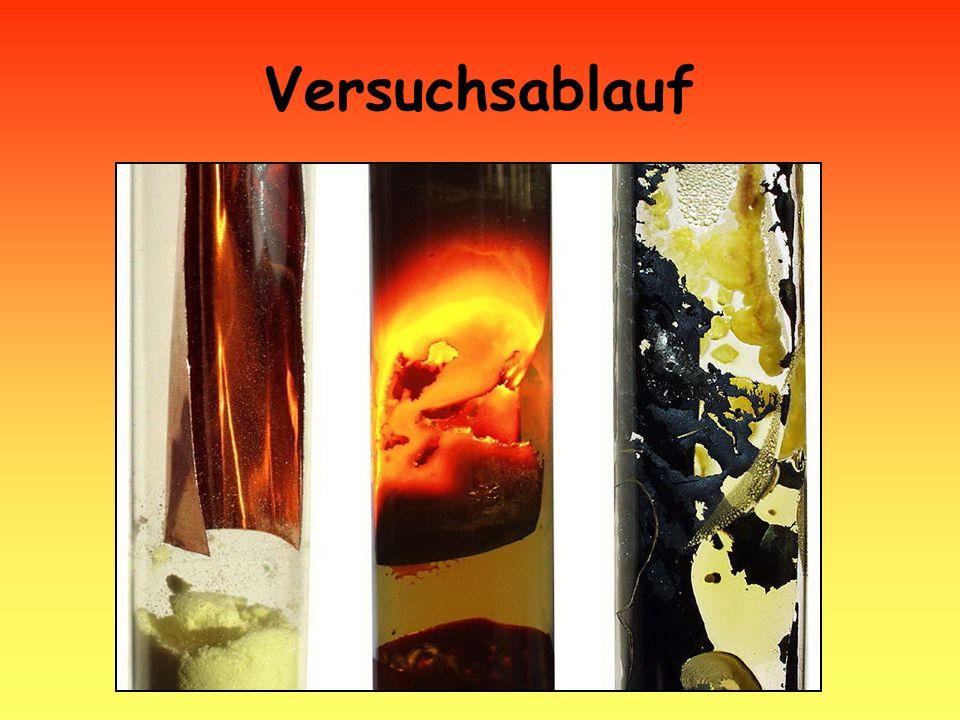 zusammengestellt: Ch. Zach 2007 Versuchsablauf