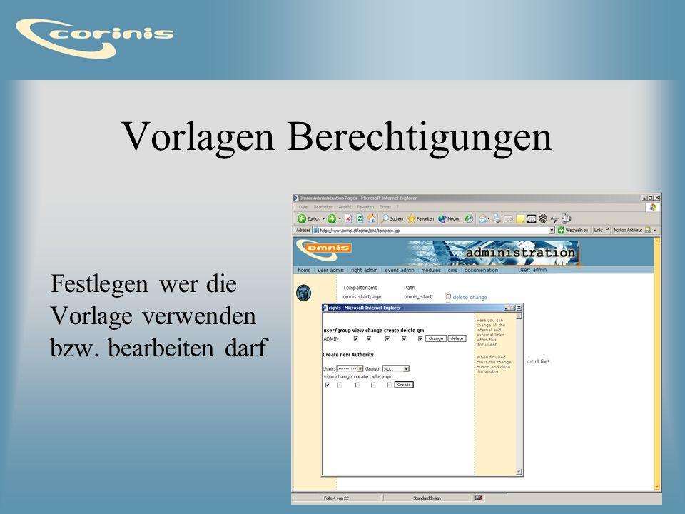 Navigator Verwaltung der Struktur Logisch wie Verzeichnisstruktur Erstellen /Löschen von Seiten, und Verzeichnissen Kopieren und Verschieben Bearbeitung der Einstellungen eines Dokuments TodoList, Aufgaben, Workflow Upload von Daten Sperren von Dokumenten Freigabeprozedur