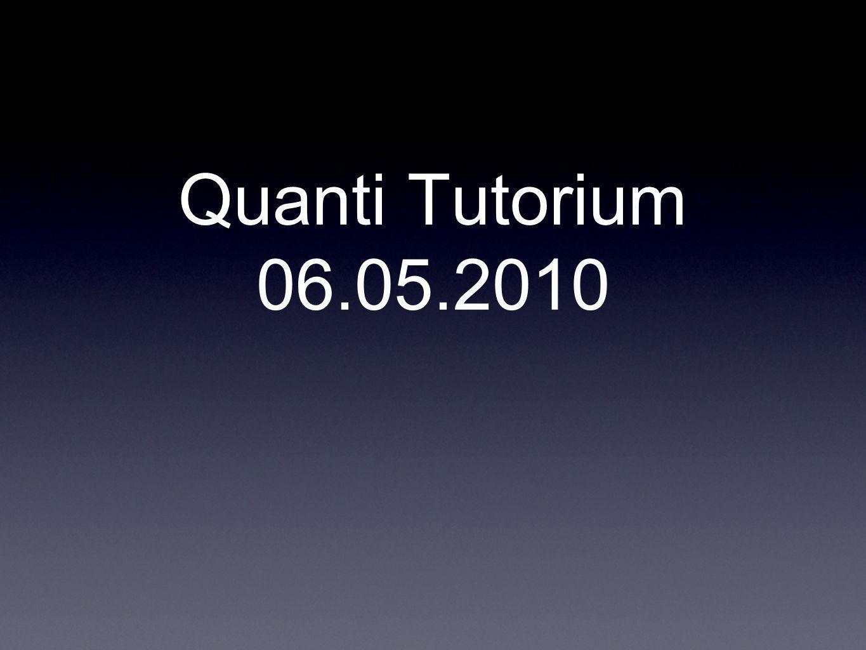Organisatorisches Ersatztutorium für Do.13.05.2010 Vorlesung 03.