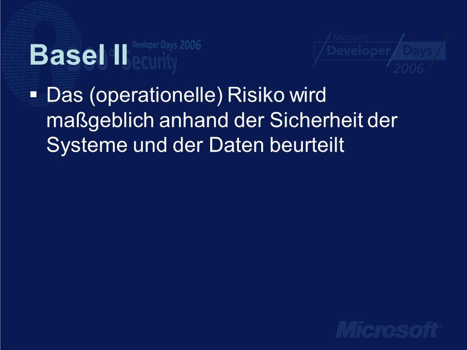 Basel II ab 1.