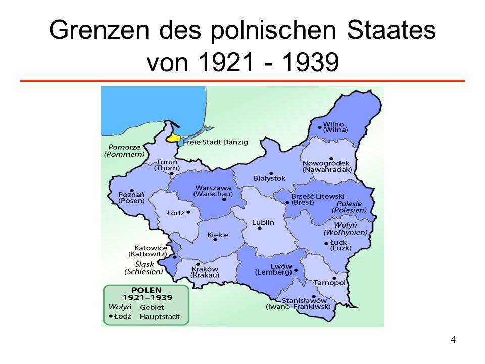5 Überfall und Besatzung Überfall der deutschen Wehrmacht auf Polen am 1.