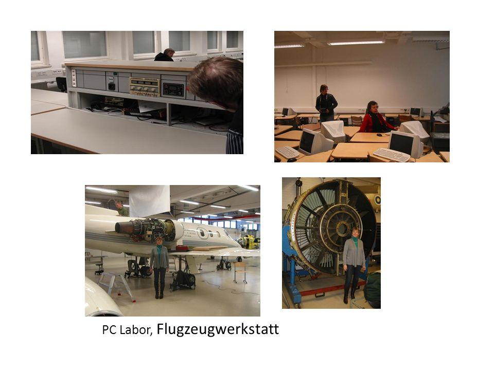 PC Labor, Flugzeugwerkstatt