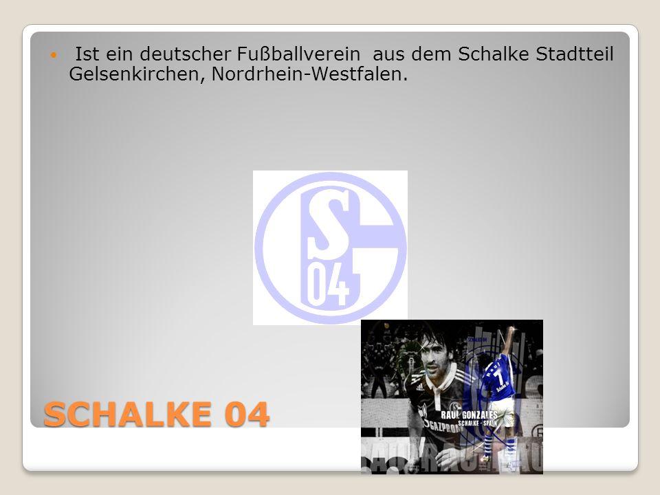 SCHALKE 04 Ist ein deutscher Fußballverein aus dem Schalke Stadtteil Gelsenkirchen, Nordrhein-Westfalen.