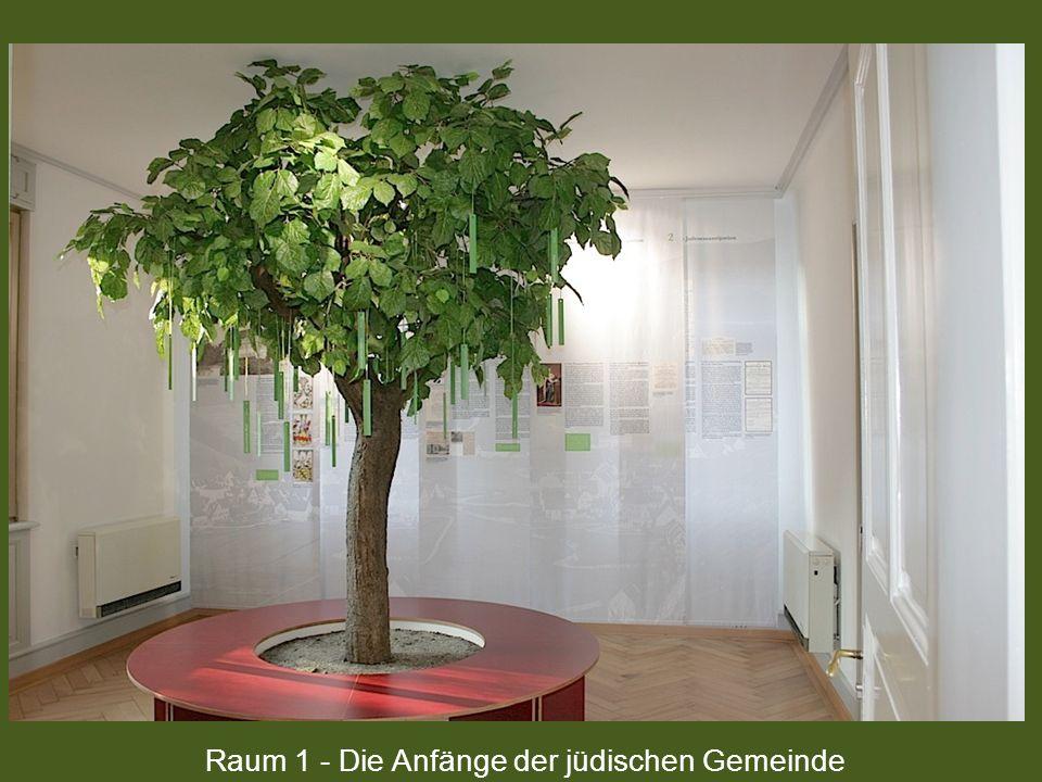 Raum 1 - Die Anfänge der jüdischen Gemeinde
