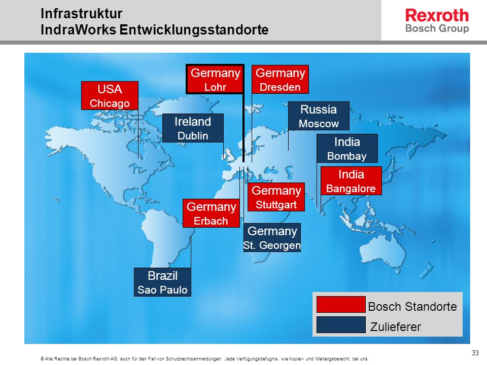 © Alle Rechte bei Bosch Rexroth AG, auch für den Fall von Schutzrechtsanmeldungen. Jede Verfügungsbefugnis, wie Kopier- und Weitergaberecht, bei uns.