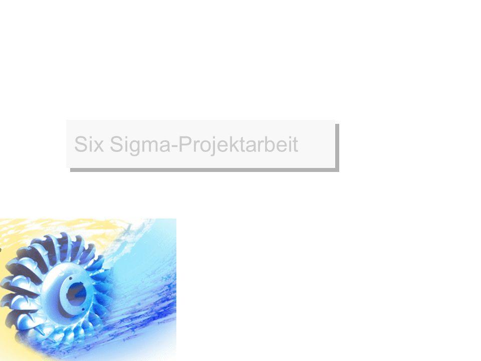 Six Sigma-Projektarbeit