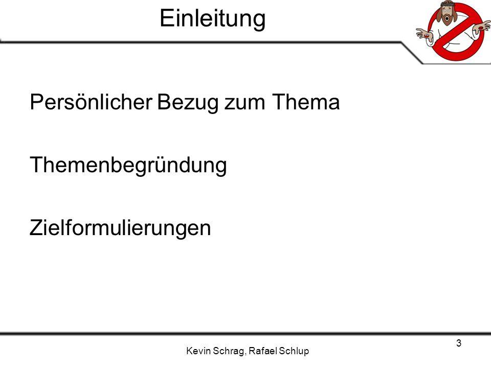 Kevin Schrag, Rafael Schlup 14 Umfrage