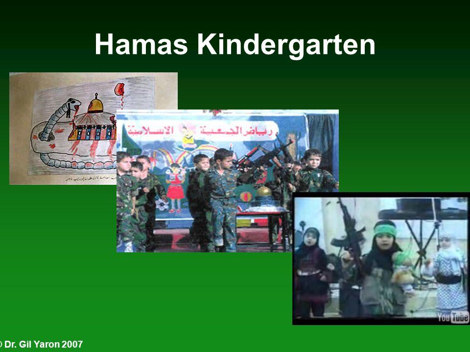 © Dr. Gil Yaron 2007 Hamas Kindergarten