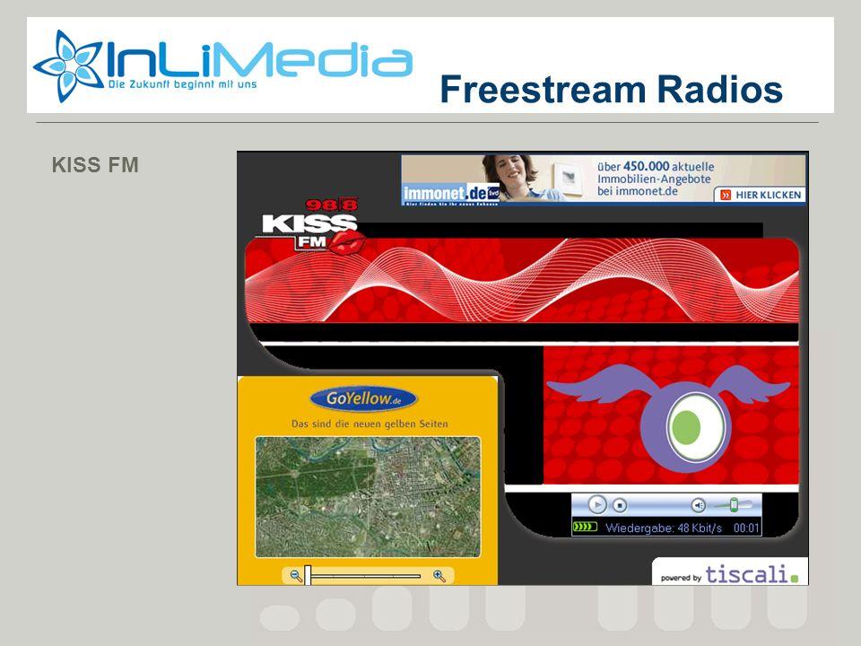 Screenshot 3 Screenshot 2 Screenshot 1 KISS FM Freestream Radios