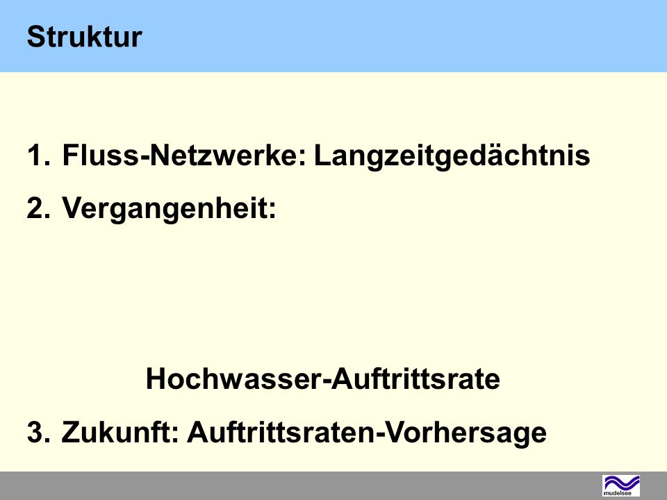 Methode A: GCM-RM-FM+ Statistisches Modell (t) 3.