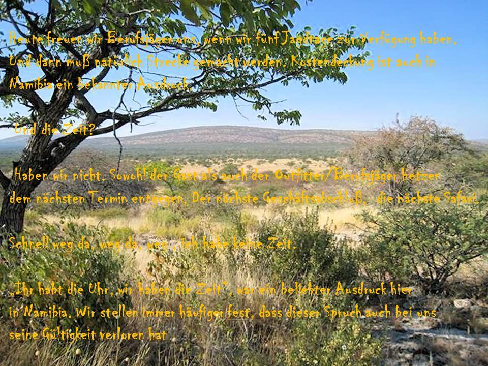 Die Formel: Mehr Wild + mehr Wildarten = höhere Wilddichte = mehr Trophäen in weniger Zeit macht sich für beide Seiten bezahlt.
