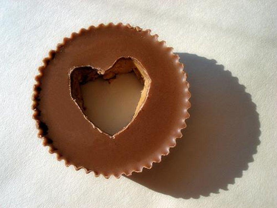 Schokolade ist oft braun.